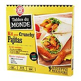 Kit Fajitas Tables du Monde Croustillant - 530g