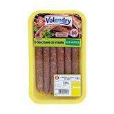Saucisses volaille Volandry Aux herbes - 300g