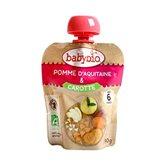 Assiette pomme Babybio Carotte - 90g