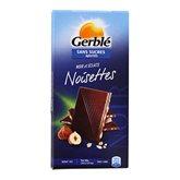 Chocolat noir éclat de noisettes s/sucres ajoutés Gerblé