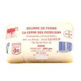 Beurre fermier doux La plaquette de 250 gr
