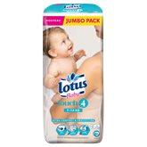 Lotus Baby Couches Touch 4 : 7-14 kg le paquet de 54