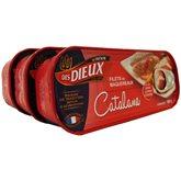 Filets de maquereaux Les Dieux A la catalane, x3 - 507g