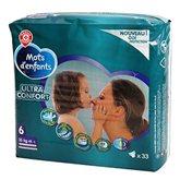 Couches bébé Mots d'enfants Ultra confort T6 16/23kg- x33