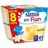 P'tit flan - Dessert lacté - Vanille