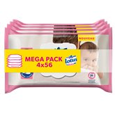 Lingettes Lotus Baby Ultra douce - 4x56