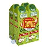 promo - pressade bio nectar de pomme 4x1,5l