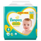 Jumbo + - T4 - x64 Couches Pampers Premium Protect