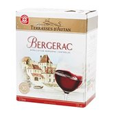 Terrasses d'Autan Vin rouge  Bergerac AOC - Bag in Box 3L