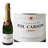 Pol Carson Champagne  Brut 12%vol - 37,5cl