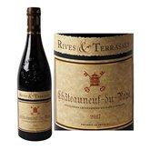 Rives et Terrasses Vin rouge  Châteauneuf du Pape AOC - 75cl