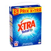 X•TRA Lessive poudre  total 50 doses - 2,75kg