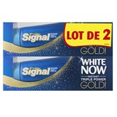 Signal Dentifrice  White Now Gold - 50ml x2