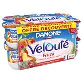 Danone Velouté Fruix Panaché - 16x125g