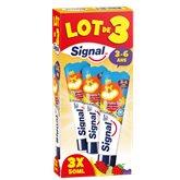 Signal Dentifrice enfant Signal Fruitgolo - 3-6 ans - 3x50ml