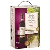 Cambras Vin rouge Les Ormes de  Merlot 12.5%vol. - BIB 5L