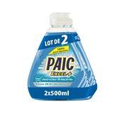 Paic  Liquide vaisselle  Excel+ Antibactérien 2X500ml