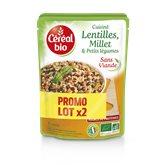 Céréal Bio Lentilles millet  2x250g
