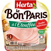 Herta Jambon Le Bon Paris Herta x10 tranches - 425g