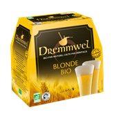 Dremmwel Bières blonde Bio  5% - 6x25cl