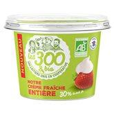 Les 300 & Bio Crème fraiche  Epaisse - 30%mg - 494g