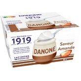 Danone Yaourt au lait entier Danone 4x125g Amande