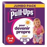 Huggies Culottes Pull-Ups Huggies Jour Fille 2-4 ans 18/23kg -x25