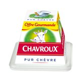 Chavroux Fromage chèvre  Nature pot 150g offre gourmande