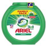 Ariel Lessive  3 en 1 pods Original - 47 doses