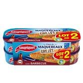 Saupiquet Filets Maquereaux MSC Saupiquet Barbecue - 2x120g