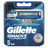 Gillette Lames Gillette Mach 3 Turbo x5