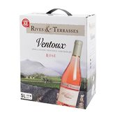 Rives et Terrasses Vin rosé Rives & Terrasses Ventoux AOC - Bag in Box 5L
