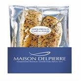 Delpierre Filets de maquereaux Delpierre Fumés au poivre - 150g
