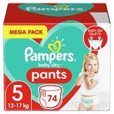 Pampers Culottes Pampers Baby Dry Taille 5 12/17kg - x74