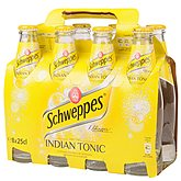 Schweppes Soda  Indian Tonic Pack Bouteille - 8x25cl