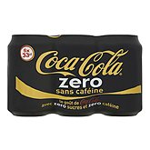 Soda Coca,COCA-COLA ZERO,6x33cl