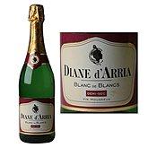 Diane d'Arriac Vin mousseux  Blanc de blancs Demi sec - 75cl
