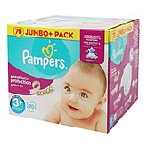 Pampers Couches  Active Fit T3+ Jumbo+ x70
