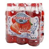 Cristaline aromatisée fraise 6x50 CL