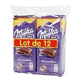 chocolat au riz croustillant x12 milka 1200g